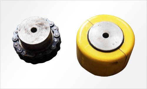 GL (F) type roller chain coupling (with hood)